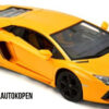 Lamborghini Aventador LP700-4 (Geel) 1/18 Rastar