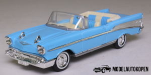 1957 Chevrolet Bel Air Convertible (Blauw)