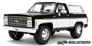1980 Chevrolet Blazer (Zwart