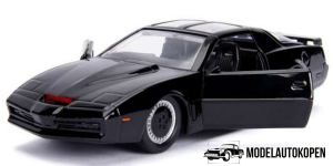 1982 Pontiac Firebird Knightrider K.I.T.T. (Zwart)