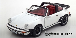 1987 Porsche 911 Turbo Cabriolet (Wit)