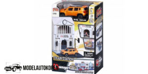 Bburago City Train Station - Jeep Renegade 1/43 Speelgoed
