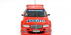 1995 Mercedes C Klasse DTM Team Zakspeed L. Krages (Rood) 1/43 Minichamps