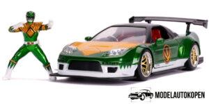 2002 Honda NSX Type-R Japan Spec + Power Ranger (Groen) 1/24 Jada