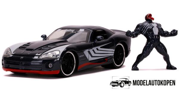 2008 Dodge Viper + Venom Figuur (Grijs) 1/24 Jada