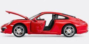 Porsche 911 Carrera S (Rood) 1/24 Rastar
