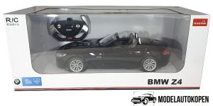 BMW Z4 (Zwart) (Radiografisch Bestuurbaar / Remote Control) 1/12 Rastar