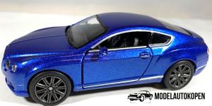 Bentley Continental GT Speed (Blauw)