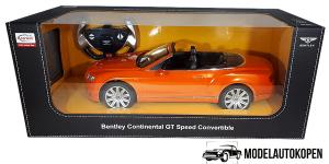 Bentley Continental GT Speed Convertible (Oranje) (50 cm)