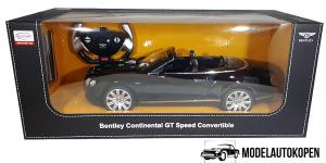 Bentley Continental GT Speed Convertible (Zwart) (50 cm)