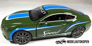 Bentley Continental GT Speed Sport (Groen)