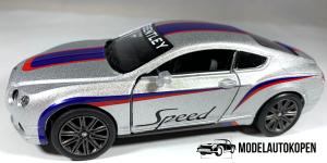 Bentley Continental GT Speed Sport (Zilver)