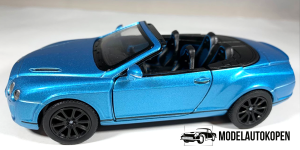 Bentley Continental Supersports Convertible (Blauw)