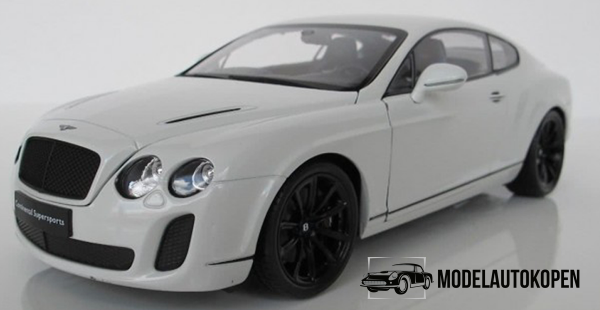 Bentley Continental Supersports (Wit)