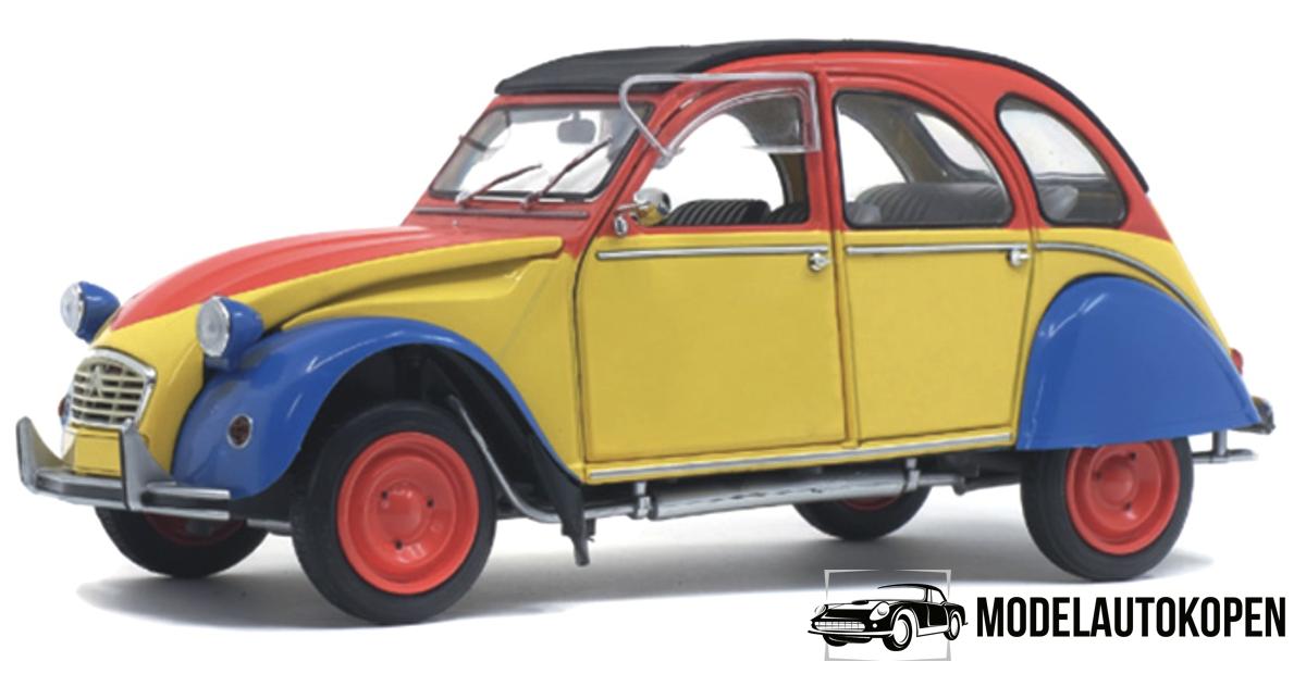 Citroën 2CV6 (Rood