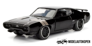 Dom's Plymouth GTX Fast & Furious (Zwart)