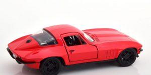 Letty's Chevrolet Corvette Fast & Furious (Rood) 1/32 Jada