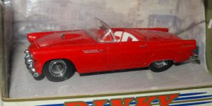 1955 Ford Thunderbird (Rood) 1/43 - The Dinky Collection - Matchbox Collectibles