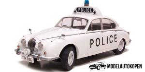 Jaguar MK II Politie Auto (Wit)