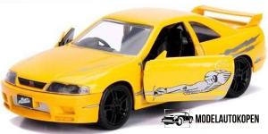 Leon's Nissan Skyline GT-R Fast & Furious (Geel)