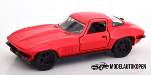 Letty's Chevrolet Corvette Fast & Furious (Rood)