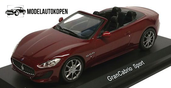 Maserati GranCabrio Sport (Rood)