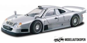 Mercedes CLK-GTR Street Version (Zilver)