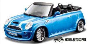 Mini Cooper S Cabriolet (Blauw)