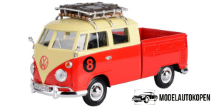 Volkswagen Type 2 Pick-Up Van (Roof Rack) Rood