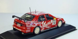 1996 Alfa Romeo 155 DTM Team Alfa Corse G. Fisichella (Rood) 1/43 Minichamps