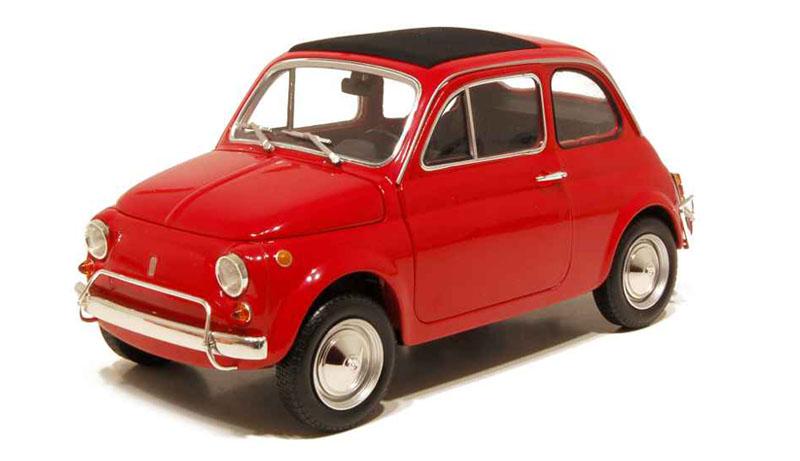 Unieke Fiat modelauto's
