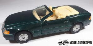 Mercedes-Benz 500SL (Groen) 1/40 Maisto