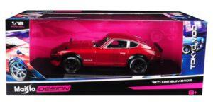 1971 Datsun 240Z (Rood) 1/18 Maisto Design