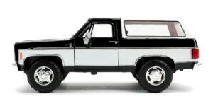 1980 Chevrolet Blazer (Zwart/Wit) 1/24 Jada