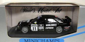 1996 Mercedes C Klasse DTM #11 (Zwart) 1/43 Minichamps