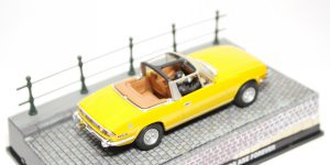 Triumph Stag 'Diamonds Are Forever' (James Bond) (Geel) 1/43 Atlas