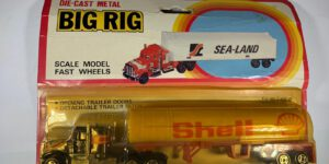 Shell Fuel Tanker Truck + Trailer - Big Rig