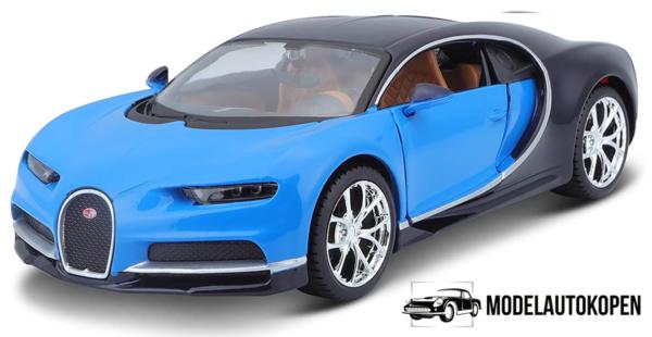 Bugatti Chiron 2017 (Blauw