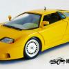 Bugatti EB 110 (1991) (Geel)