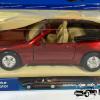 Mini-Sportwagen Mercedes-Benz 500 SL (Rood) - Welly 1:43