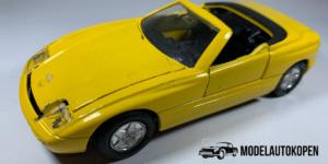 BMW Z1 (Geel) - Welly 1:39 (Opruiming)