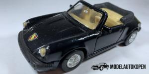 Porsche 911 (Zwart) - Welly 1:39 (Opruiming)