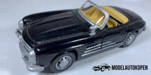 Mercedes-Benz 300SL Roadster (Zwart) - 1:43 (Opruiming)