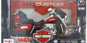 Harley Davidson 2013 FLHTK Electra Glide Ultra Limited (Rood) 1/12 Maisto