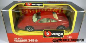 Ferrari 348 tb (Rood) - Bburago 1:43