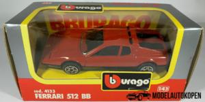 Ferrari 512 BB (Rood) - Bburago 1:43