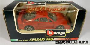 Ferrari F40 (Rood) - Bburago 1:43 (Opruiming)