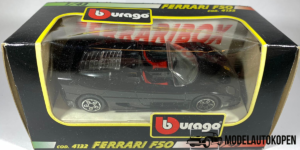 Ferrari F50 (Zwart) - Bburago 1:43