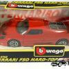 Ferrari F50 Hard-Top (Zwart) - Bburago 1:43
