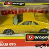 Ferrari GTO (Geel) - Bburago 1:43